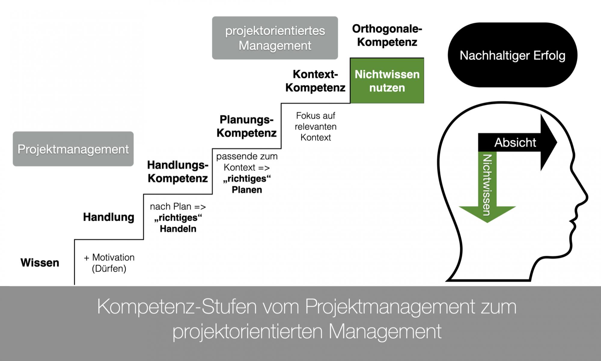 Kompetenz-Stufen-vom-Projektmanagement-projektorientierten-Management