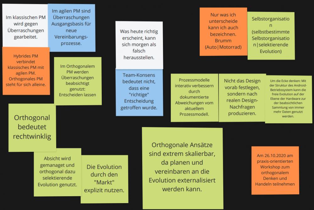 Orthogonales Projektmanagement